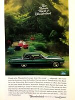 1965 Ford Thunderbird Landau Print Ad