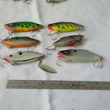 FISHING LURE 5 BILL LEWIS ASSORTED  RAT-L-TRAP
