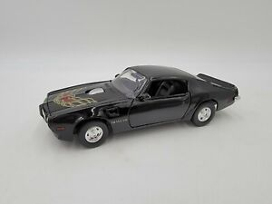Motormax - 1:24 Scale Diecast - 1973 Pontiac Trans AM - Black - #73243 Excellent