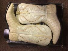 Guardado's alligator skin cowboy boots