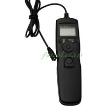 Timer Remote Shutter Removable Cord  For Canon EOS 1DS 5D Mark II III 7D 50D