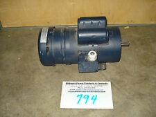 Leeson 111951, 1hp, 1725rpm, 56C, 115/230, TEFC, 1 ph, C6K17FK21G, brake motor