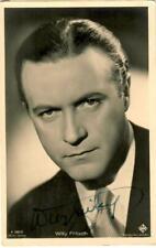 Willy Fritsch Ross A 2567/2 signiert, Autogramm