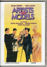 ARTISTS & MODELS AND YOU'RE NEVER TOO YOUNG JERRY LEWIS 2 DVD SET ALL REGION DVD