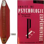 Traité psychologie expérimentale 4 Apprentissage et mémoire Fraisse Piaget b