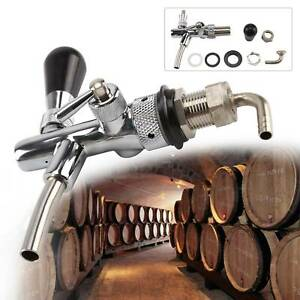 Beer Tap Intertap Flow Control Stainless Steel Faucet Shank G5/8 Thread Tap Kit