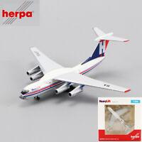 1/500 Herpa True-to-Scale Flugzeugmodell HeavyLift llyushin IL-76 Szenenmodell