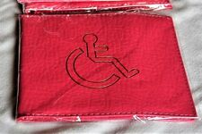 Disabled pink badge holder, ideal for anyone with a blue badge. I have this one.
