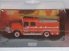 DODGE D - 500 Fire Truck Belgium Atlas Collection Die Cast 1:72 NEW