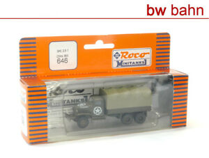 Roco Minitanks H0 646 LKW GMC CCKW 353 2,5t mit US-Stern, US-Army