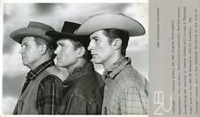 BARTON MACLANE DON COLLIER JOCK GAYNOR PROFILE OUTLAWS ORIGINAL '60 NBC TV PHOTO