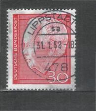 Gestempelte ungeprüfte Briefmarken aus der BRD (1960-1969) als Einzelmarke