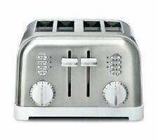 Cuisinart CPT-180W Metal Classic 4-Slice Toaster White and Stainless