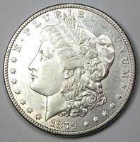 1879-S Reverse of 1878 Morgan Silver Dollar $1 VAM-9 - AU Detail - Rare Variety!