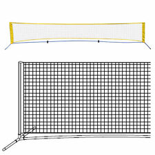 Tennis 16.7' Portable Tennis Net Training Beach with carrying bag Stand