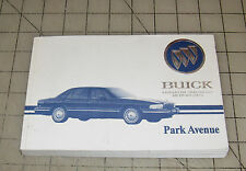 1995 BUICK PARK AVENUE Used Owner's Manual
