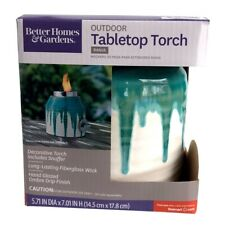 New listing Set of 2 Better Homes And Gardens Outdoor Tabletop Torches New