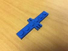 LEGO Blue Hinge Plate 1 x 6 with 2 and 3 Fingers On Sides 6044, 6055 #4507 Lot