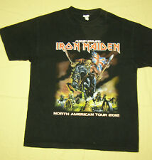 Iron Maiden North American Tour 2012 Concert T-Shirt black size M