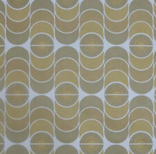 1970s Mod Minimalist Original Here to Earth Vintage Wallpaper - Retro