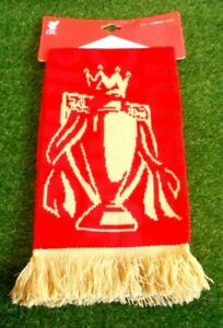 Liverpool LFC Premier Champions 2020/21 Official Scarf BNWT