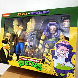 """NECA Ace Duck Mutagen Man Teenage Mutant Ninja Turtles 7"""" Figure TMNT Official"""