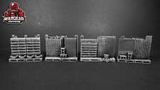Post Apocalyptic Makeshift Barricades for 28mm War Games - The Walking Dead Aow