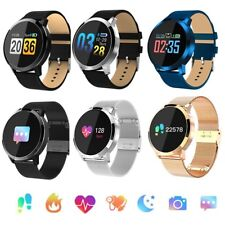Bluetooth Smart Watch Heart Rate Health Tracker Bracelet for iPhone Samsung LG