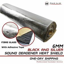 Heat Insulation Thermal Sound Deadener 90''x39'' Car Noise Reducing Adhesive