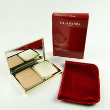 Clarins Everlasting Compact Foundation Wheat #109 - Full Size 10 g / 0.3 Oz New