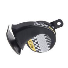 Motorcycle Truck Loud Snail Air Horn Siren 130dB 12V Waterproof Universal Black