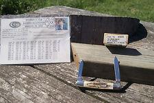 CASE XX 1999 STAG EISENHAUER KNIFE MARGARET MEAD POSTCARD DOUBL SHIELD 1/45 5263
