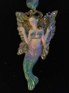 Kirks Folly Mermaid Fairy Ornament