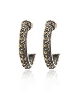 Konstantino HEBE Sterling Silver Earrings SKKJ573-130
