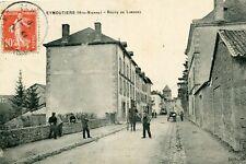 Carte EYMOUTIERS Route de Limoges