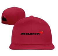 McLaren Logo Unisex Snapback Flat Baseball Cap