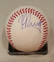 Yasiel Puig Los Angeles Dodgers autographed official MLB baseball w/C.O.A.