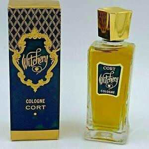 Vintage Witchery Cologne Perfume 4 oz Splash in Box Cort Cosmetics NOS USA FR1