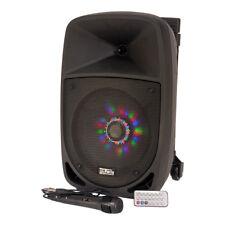 More details for pls 300w portable sound system bluetooth garden party speaker karaoke dj disco