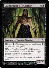 GATEKEEPER OF MALAKIR Zendikar MTG Black Creature — Vampire Warrior Unc