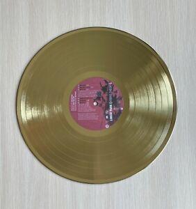 Linkin Park Hybrid Theory 2000 Gold Vinyl Record