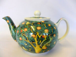 William Morris Woodpecker design 2 cup teapot by The Abbeydale collection.