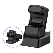 Charging Dock Charger Stand Station Holder for Fitbit Charge3 Fitness Tracker AC
