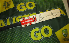 "Shaun Marsh (Australia) signed Gray Nicolls ""Kaboom"" Mini Cricket Bat + COA"
