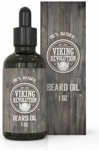Beard Oil Conditioner- All Natural Unscented Organic Argan & Jojoba Oils