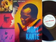 Mory Kante ORIG CAN LP Touma EX 1990 African Pop Carlos Santana