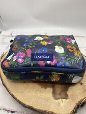 New Cover Girl CG Spring Floral Zipper Cosmetic Makeup Bag