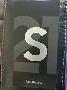 Samsung Galaxy S21 Ultra 5G SM-G998U - 128GB - Phantom Black (Unlocked)