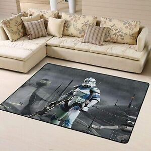 Star Wars Stormtrooper Large Rug Soft Mat Living Room Bedroom Flannel Carpet