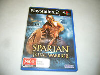 Mint Disc Playstation 2 Ps2 SPARTAN TOTAL WARRIOR Free Postage